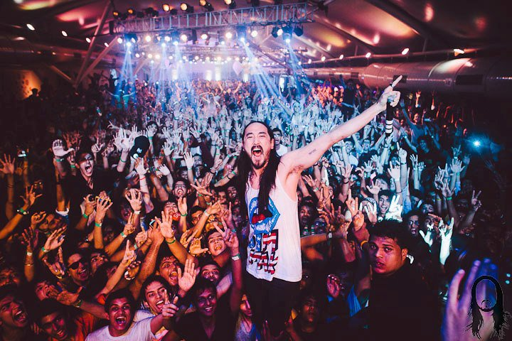 Ecosafety Music Events - Steve Aoki
