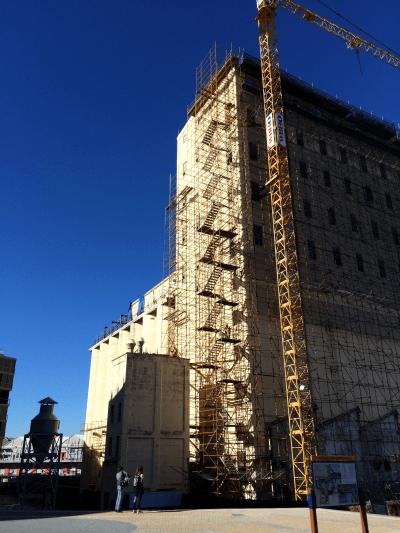 Gran Silo Under Construction